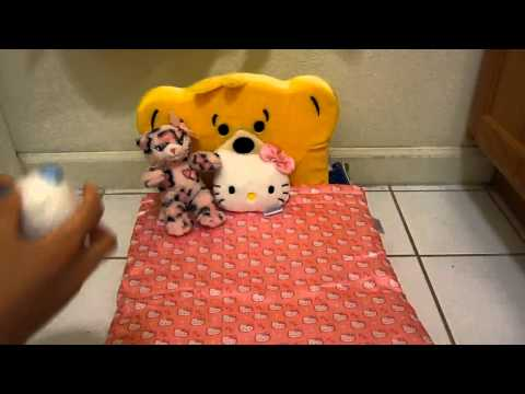 How to make a cute and cheap bed for your doll!