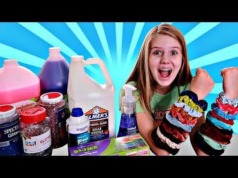Xxx Mp4 Colored Scrunchies Pick My Slime Ingredients Challenge Nessa Grace 3gp Sex