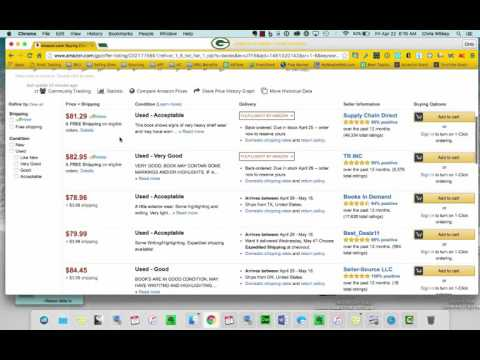Textbook Arbirtrage Google Chrome Extension