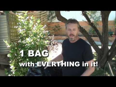 Motorcycle Camping - Easy Bag Setup