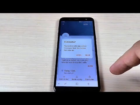 How to Block a Phone Number on Samsung Galaxy J4, J6, J8 & Plus (2018)
