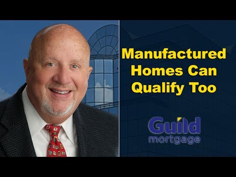 The VA Loan Guy: Manufactured Homes Made Simple