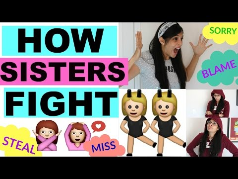 How Sisters Fight | Sibling Rivalry