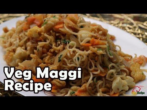 Maggi Recipe with Vegetable   সবজি দিয়ে ম্যাগি রেসিপি   Maggi Noodles Recipe in Bangla