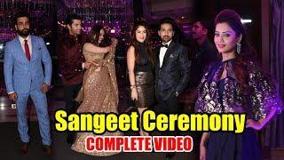 Sharad Malhotra and Ripci Bhatia's Sangeet Ceremony | COMPLETE VIDEO | Adaa Khan, Vivian Dsena