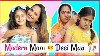 Modern Mom (मोम) vs Desi Maa (माँ) .... | #MyMissAnand #Sketch #Roleplay #ShrutiArjunAnand