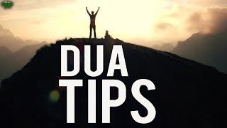 Tips On How To Get Your Duas Accepted