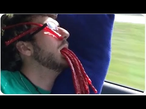 Twizzlers Red Vines Wake Up Prank | Candy Pranks