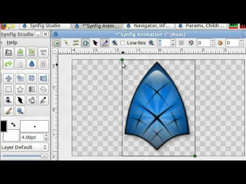 Synfig- Using Pictures in Synfig