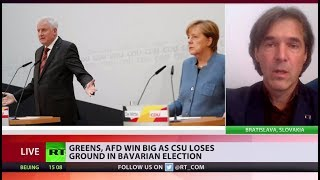 Bavarian blow: Merkel