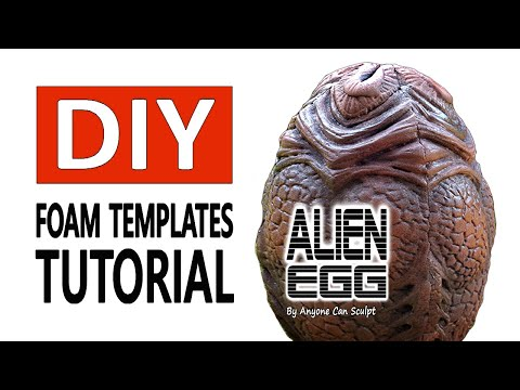 DIY Alien Egg Life Size How To Make Easy!