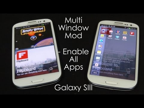 Galaxy S3 - Multi Window for All Apps (I-9300 Only) - Cursed4Eva.com