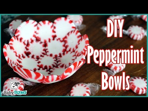 How to Make DIY Peppermint Bowls for the Holidays