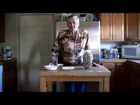 Dehydrating Okra