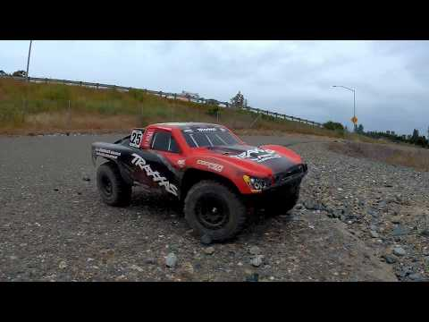 Traxxax Slash 4x4 On Board Audio Test