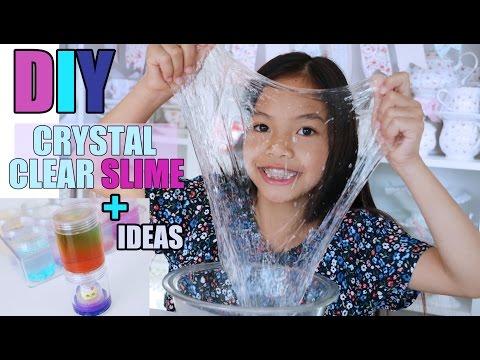 EASY CRYSTAL CLEAR DIY SLIME!!!