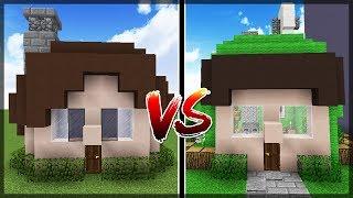 Minecraft: Casa Jazzghost Vs Casa Spok!!!