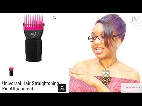 ION Pick Comb Attachment For Blow Dryers: HIT or MISS?