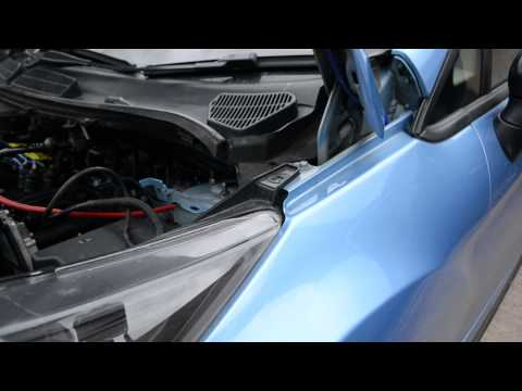 Removing Headlights Ford Fiesta Mk7