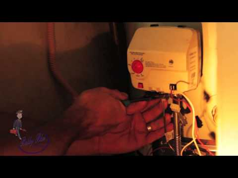 How to change out Water heater control