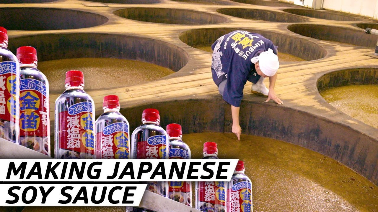 How Soy Sauce Has Been Made in Japan for Over 220 Years — Handmade