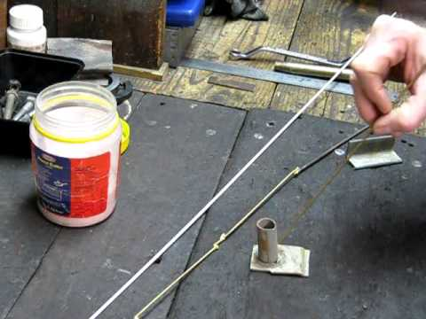 How to hard bronze braze easily - some general workshop tips