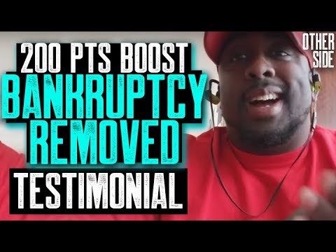 200 POINTS BOOST BANKRUPTCY REMOVED | 707 FICO CREDIT SCORE TESTIMONIAL | ALL NEGATIVE ITEMS REMOVED