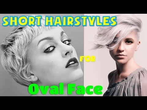40 BEST Short Hairstyles for Oval Face Women Ideas 2018 - 2019