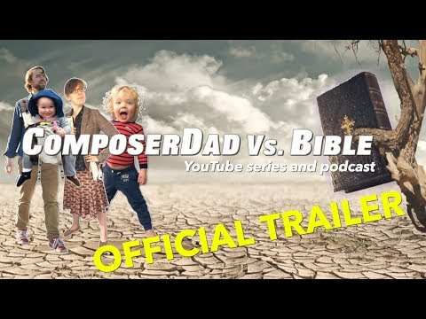 Family music and Bible adventure series | Official Trailer for ComposerDad vs. Bible Podcast