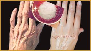 يديك تبدوا مثل العجوز بملعقة بيضاء تخلصي من اسمرار و تشققات الأيدي نهائيا ومن الاستعمال الأول
