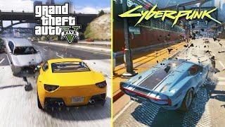 GTA 5 vs Cyberpunk 2077 - Game Mechanics Comparison