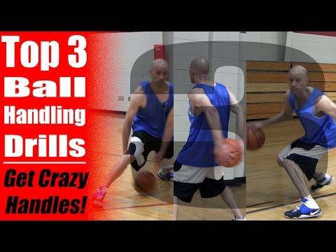 How To Get CRAZY Handles! TOP 3 Ball Handling Drills!