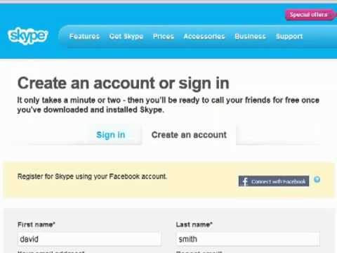 How to Create a Skype Account-(TAMIL-Pc-Tutor)