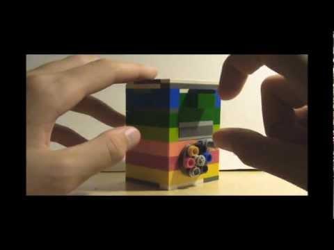 How to make a mini LEGO combination safe