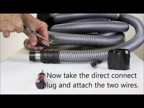 DIY Change A Vacuum Hose From Pigtail to Direct Connect
