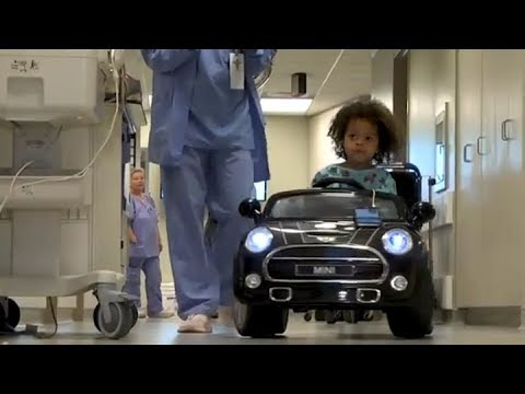 INTEGRIS Children's Uses Remote Control Cars to Take Kids to Surgery