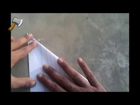 How to make a paper Crane(Bird)U.P