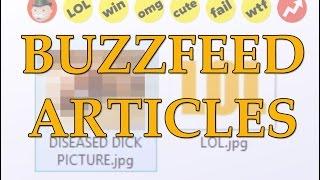 Internet Comment Etiquette: BuzzFeed Articles