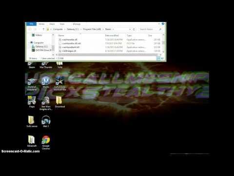 How to install a COD W@W PC Zombies Mod Menu
