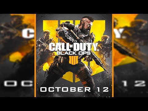 BO4 Multiplayer Gameplay Today + LEAKED Box Art (Black Ops 4)