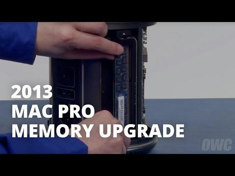 How to Install Memory (RAM) in a Late 2013 Mac Pro