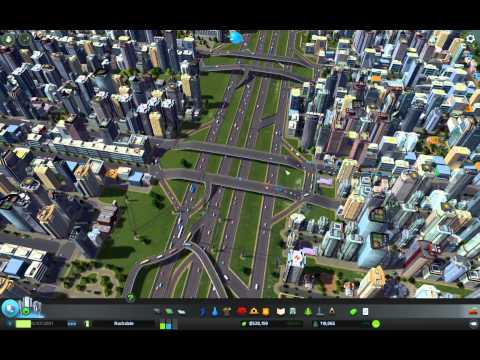 Cities: Skylines Traffic Flow and Mass Transit