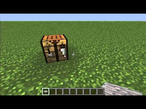 How to Make a Stone Pressure Plate in Minecraft