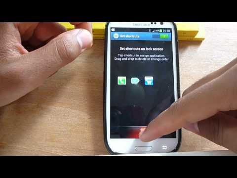 Galaxy S3 Change Lock Screen Symbols