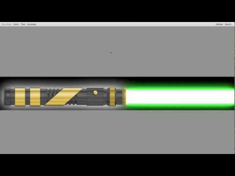 TCSS Custom Lightsaber Hilt Render Tutorial using Photoshop (Part 1)