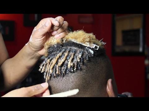 Natural Hair Twist For Men