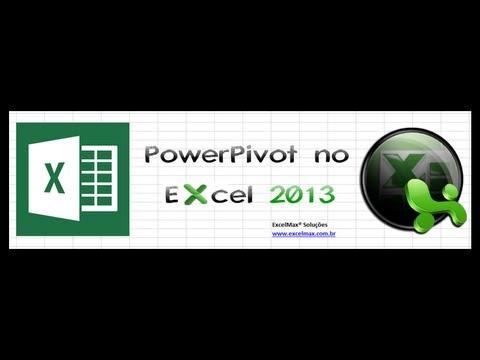 Analisar dados com o PowerPivot no Excel 2013