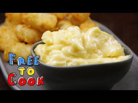 How to make Mayonnaise (Homemade Mayonnaise)