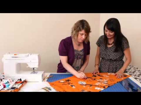 How to Make the Zippered Throw Pillow from Sewing in a Straight Line by Brett Bara