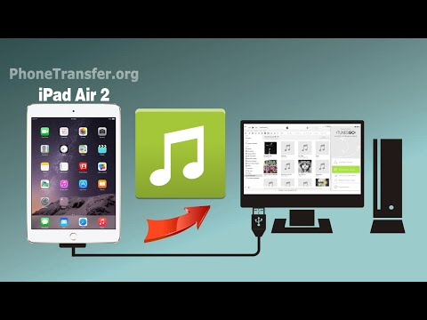 How to Transfer Music from iPad Air 2 to Computer, Backup iPad Air 2 Songs to PC